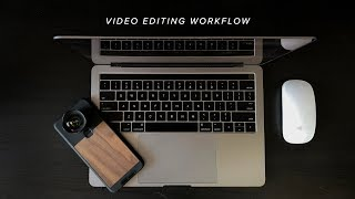 Video Editing Workflow For Beginners | Adobe Premier Pro + Mobile Video