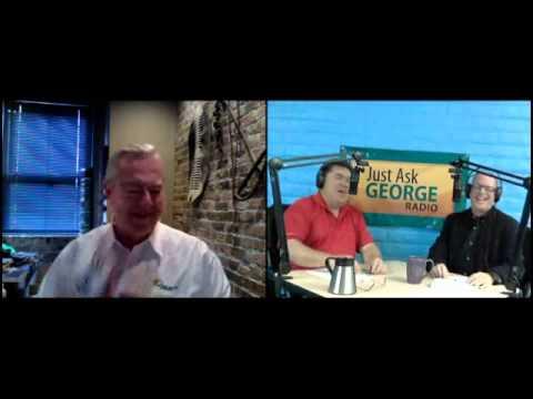 Bill Kurtis visits Just Ask George