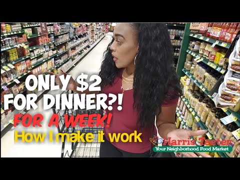 $2 Dinner For A Week! Cheap Meals! Couponing To Eat For Free! Easy With Coupons | One Cute Couponer