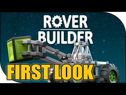 ROVER BUILDER Gameplay, Fun Mechanics based game!