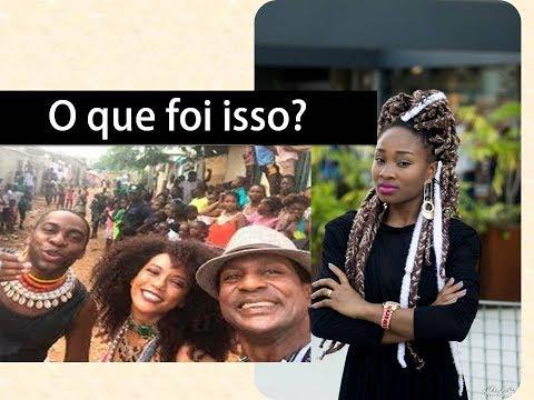 Taís Araújo e Lázaro Ramos em Angola e o  FIASCO VERGONHOSO do Luiz Miranda