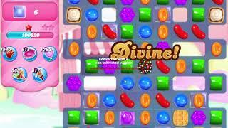 Candy Crush Saga Level 501 NO BOOSTERS waffles