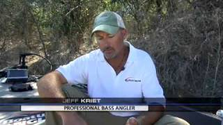 Jeff Kriet and Wade Middleton talk about fishing soft plastics on Lake Amistad