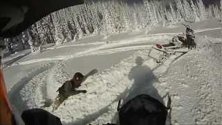 2013 Ski Doo XM Fernie BC POWDER Thumbnail