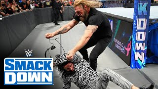 Edge to face Seth Rollins inside Hell in a Cell: SmackDown, Oct. 8, 2021