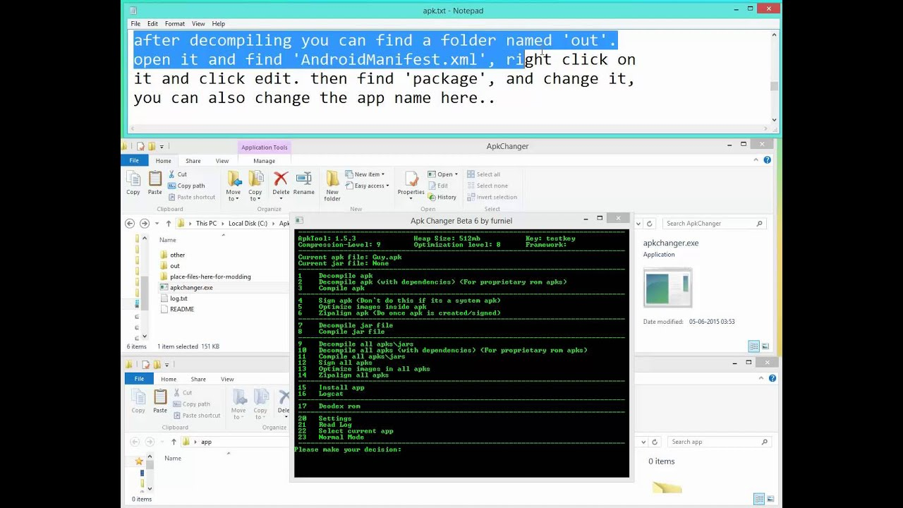 Change Package Name of Android apk Using APKChanger[Tutorial]
