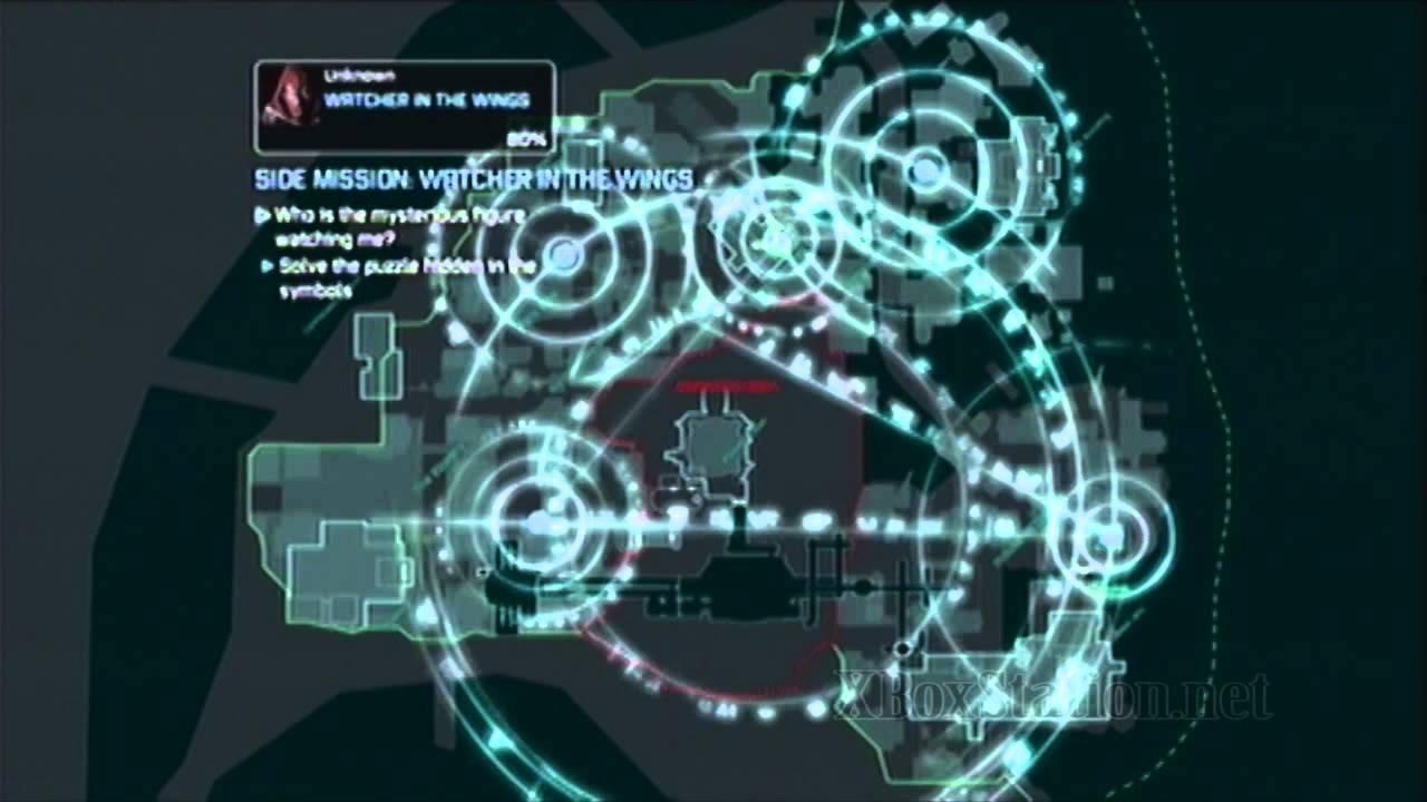 Batman Arkham City Side Mission Watcher In The Wings Azrael Youtube