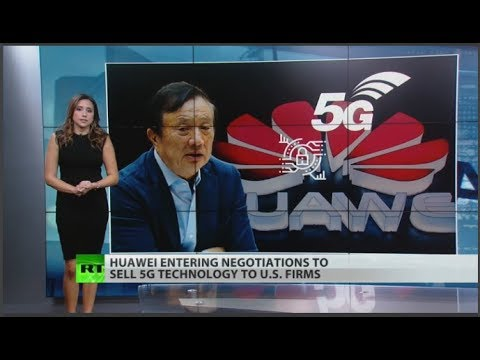 Huawei to license 5G tech to US companies