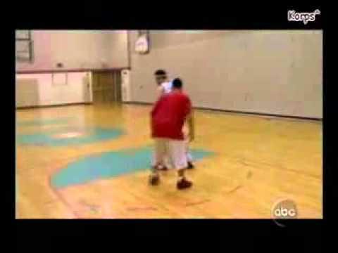 Eminem Playing Basketball