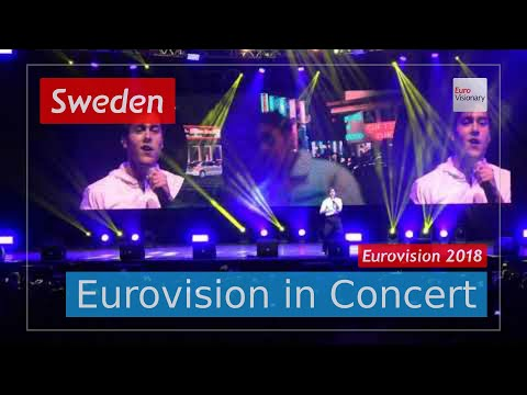 Sweden Eurovision 2018 Live: Benjamin Ingrosso - Dance You Off - Eurovision in Concert