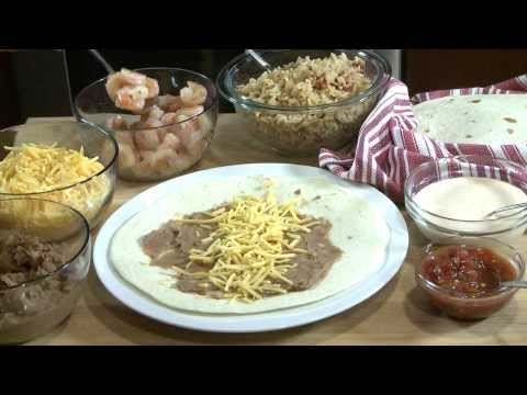 How to Make Shrimp Burritos