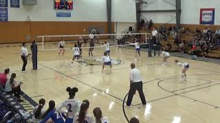 Women's Volleyball vs. Providence Christian College 10.13.2018
