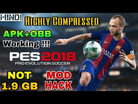 PES 2018 Highly Compressed Mod Apk+Obb For All Android Device In Hindi