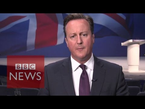 PM David Cameron: 'Immigration should mean controlled immigration' - BBC News
