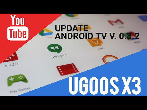 Делаем Update Ugoos X3 0.3.2 Android TV