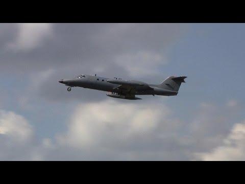 Learjet 36A ► Takeoff ✈ Groningen Airport Eelde