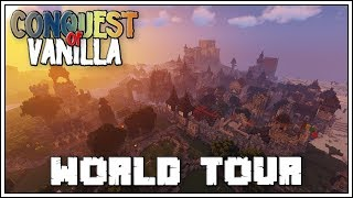 EPIC MINECRAFT MEDIEVAL CITY!!! ► World Tour with Fwhip