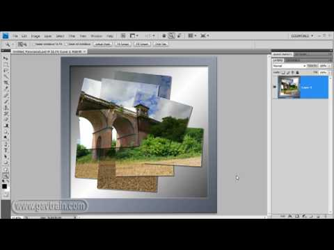 Photograph And Create A Joiner With Photoshop CS4 - Week 64