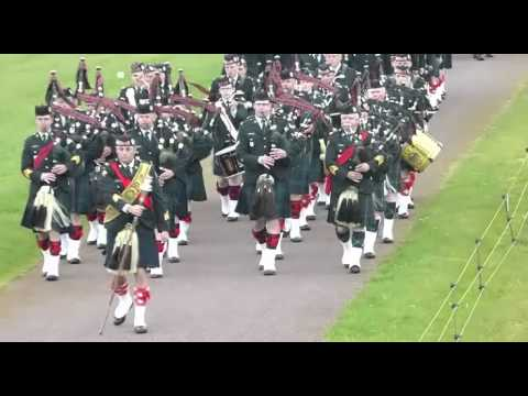 Canadian Scottish regiment WW1 parades 2015 -1