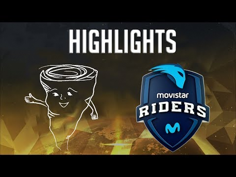 Cyclowns vs Movistar Riders Highlights - Overwatch Contenders Season Zero: Europe