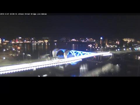 Johnson Street Bridge Live Webcam