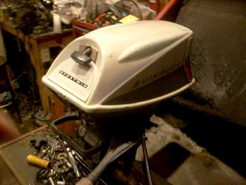 10hp Evinrude Sportwin Outboard Running