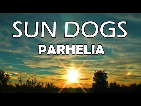 Sun dogs in the sky  parhelia compilation