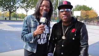 Michael Bivins Gets Basketball Court In His Name
