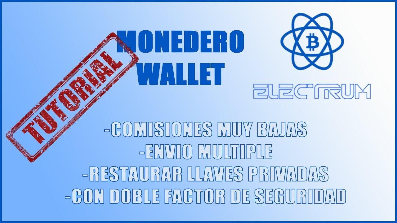 comision electrum btc