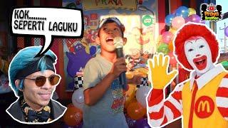 Badut Ulang Tahun Praya Brother di McDonalds ~ Selamat Ulang Tahun