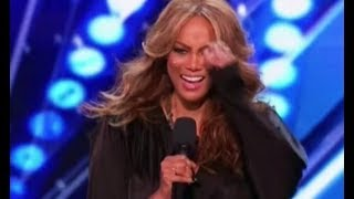 Recap: Tyra Banks Performance On America's Got Talent 2017
