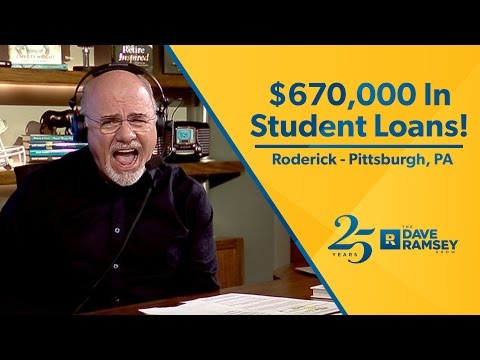 $670,000 In Student Loans!