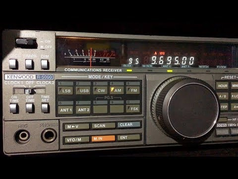 Sri Lanka Broadcasting Corp - 9695 kHz New Frequency - Hindi Service