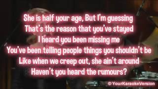 Adele - Rumour Has It (Karaoke/Instrumental) with lyrics