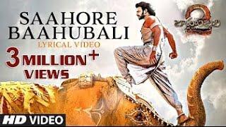 Saahore Baahubali Full Song  |  Baahubali 2 Songs With Lyrics  |  MM Keeravani, Prabhas