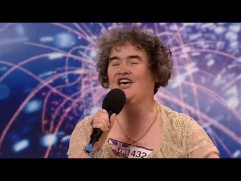 Susan Boyle  Britains Got Talent 2009 week 1