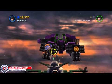 Lego Batman 2 Dc Super Heroes Walkthrough Part 23 Down To Earth