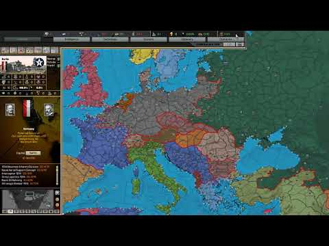 WW1 Can Germany win? [AI Timelapse] (Darkest Hour: A Hearts of Iron Game) |