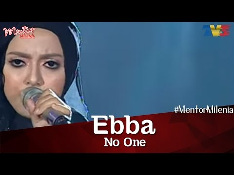 #MentorMilenia | Ebba | No One