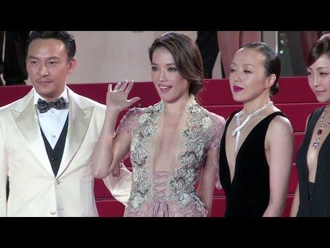 Shu Qi and more attend the red carpet of Nie Yinniang in Cannes