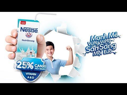 Sữa Tiệt Trùng Nestlé Mới (45s)