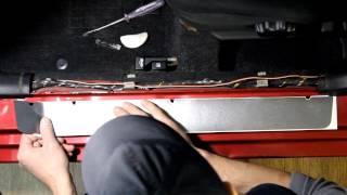 Наклейки на пороги для Mitsubishi Lancer 9 (Митсубиси Лансер)