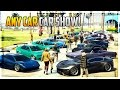 GTA 5 Online - 'ANY CAR' CAR SHOW! Awesome Paint Jobs & Customization! (PS4)