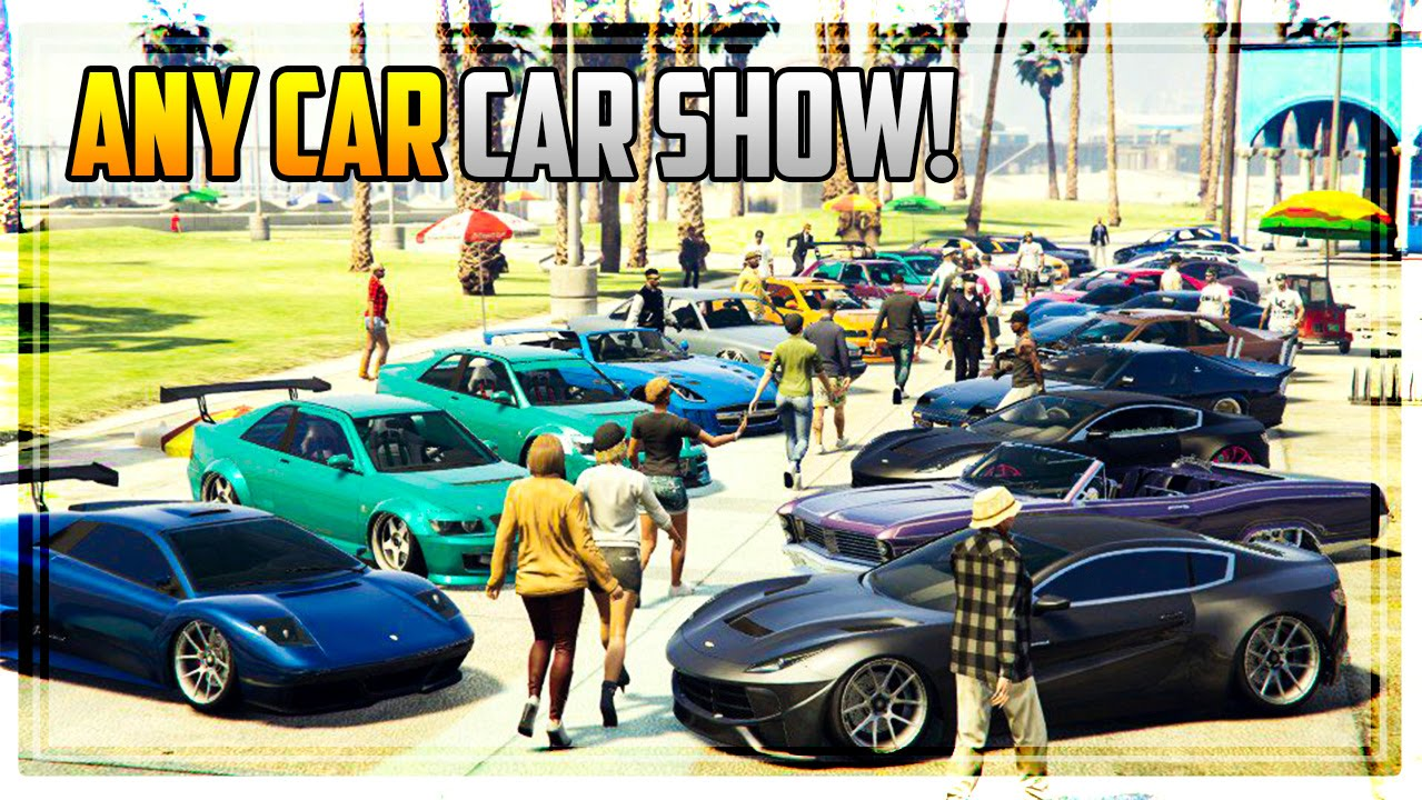 Gta 5 Online Any Car Car Show Awesome Paint Jobs