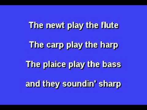 Under the Sea from The Little Mermaid   Instrumental Lyrics