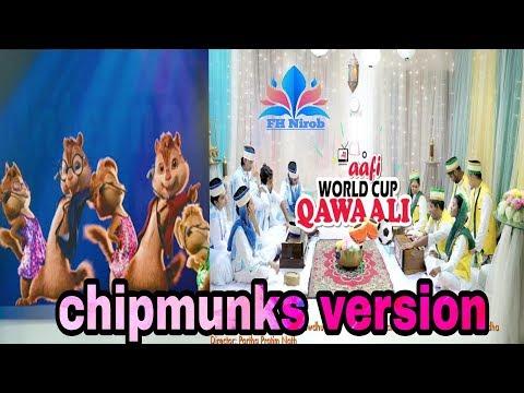 Aafi World Cup Qawwali Shamim Hasan Sarkar Tamim Mridha Brazil vs Argen | chipmunks version