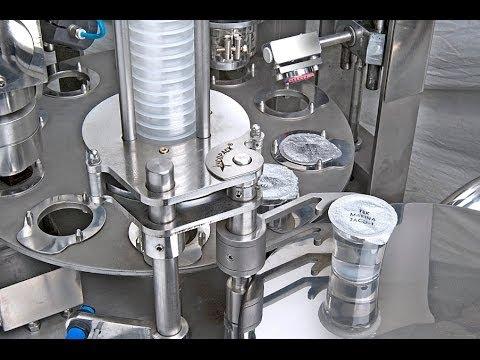 small cups filling sealing machine for liquid cream jelly juice Mesin Pengisi dan Penutup Cawan