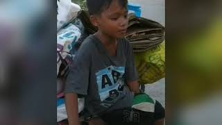 THE JUNK COLLECTOR BOY FROM PHILIPPINES WHO SHOWED HIS SINGING SKILLS