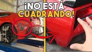 EL CHOQUE DEL CORVETTE NO SE PUEDE REPARAR...    ALFREDO VALENZUELA