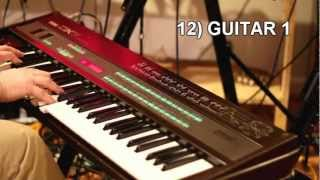 Yamaha DX7 - the 32 classic factory patches